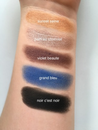 loreal swatch names eye