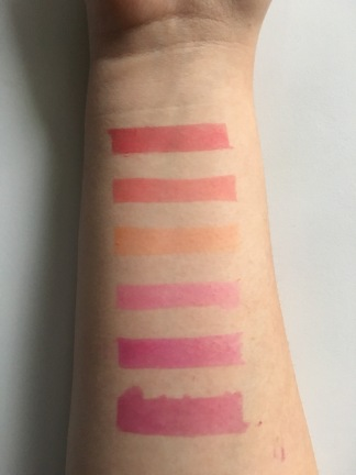 peel off stain swatch 2