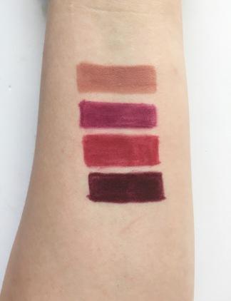 colourpop lip liner swatch