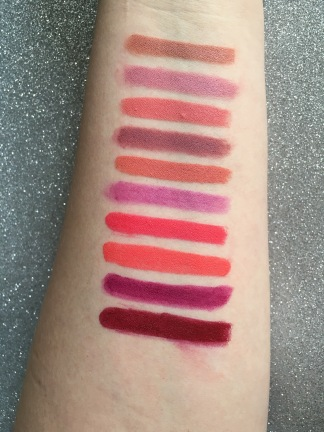 colourpop lippie stix swatch