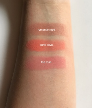 milani rose blush swatch names