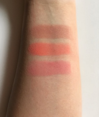 milani rose blush swatch